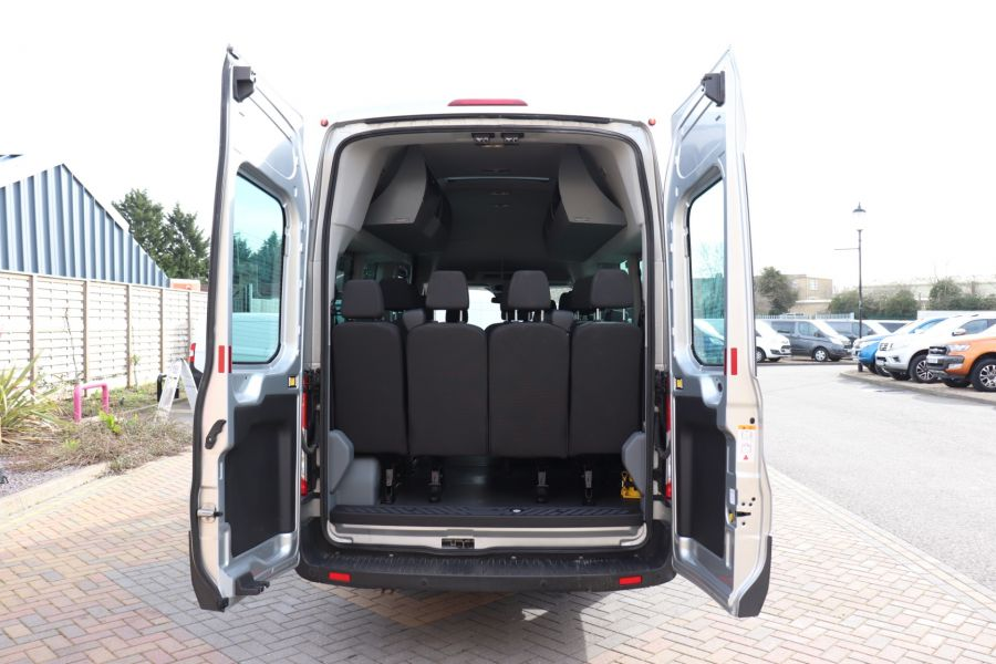 FORD TRANSIT 460 TDCI 155 L4H3 TREND 17 SEAT BUS HIGH ROOF DRW RWD - 10415 - 43