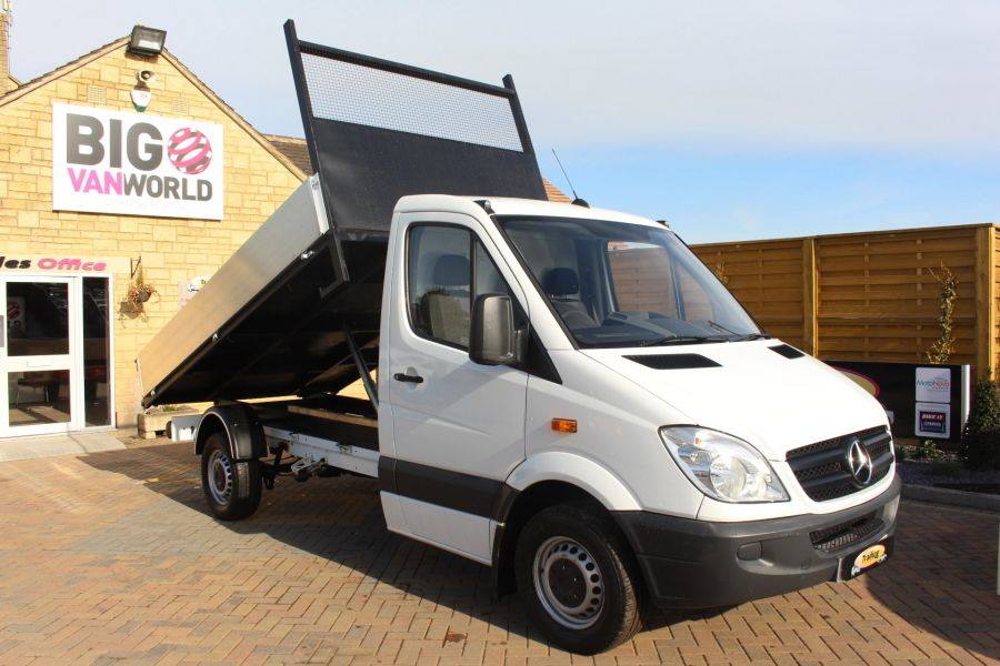 MERCEDES SPRINTER 313 CDI MWB SINGLE CAB ALLOY TIPPER - 6105 - 1