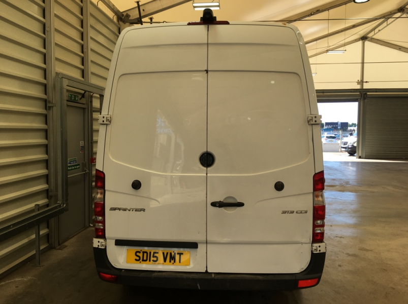 MERCEDES SPRINTER 313 CDI 129 MWB HIGH ROOF FRIDGE/FREEZER VAN WITH OVERNIGHT - 11409 - 3