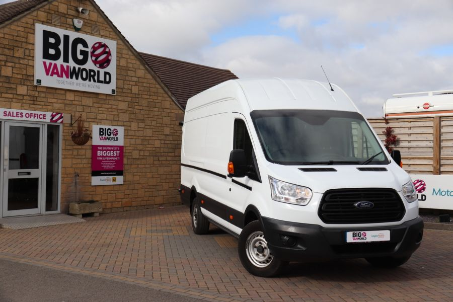 FORD TRANSIT 350 TDCI 125 L4H3 JUMBO HIGH ROOF RWD - 10472 - 1