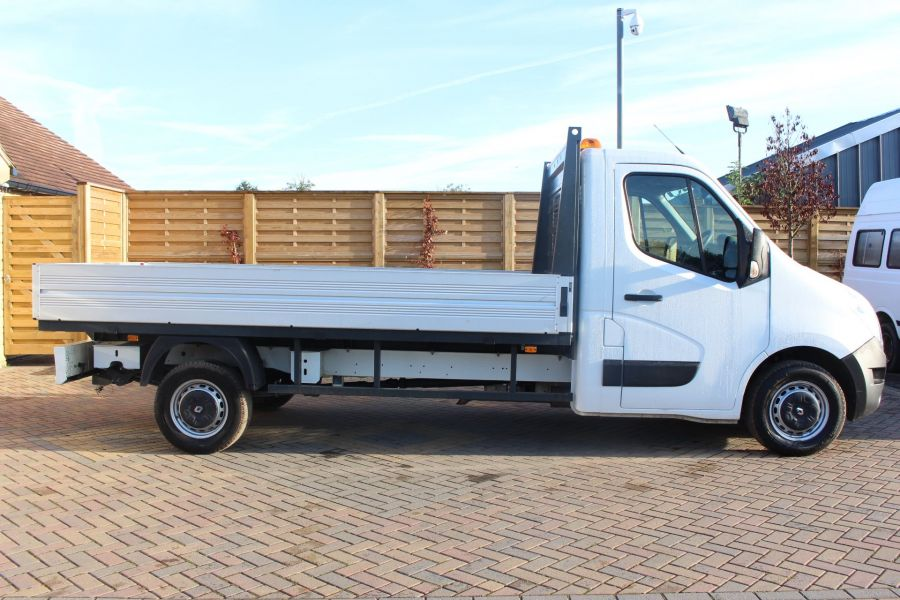 RENAULT MASTER LL35 DCI 125 BUSINESS LWB ALLOY DROPSIDE - 6657 - 4
