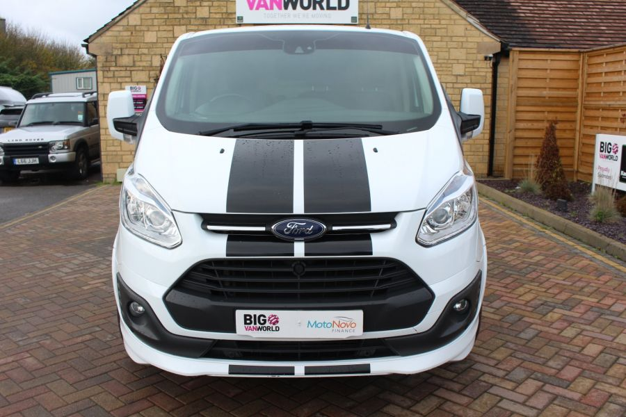 FORD TRANSIT CUSTOM 290 TDCI 155 L1 H1 SPORT SWB LOW ROOF FWD - 7036 - 9