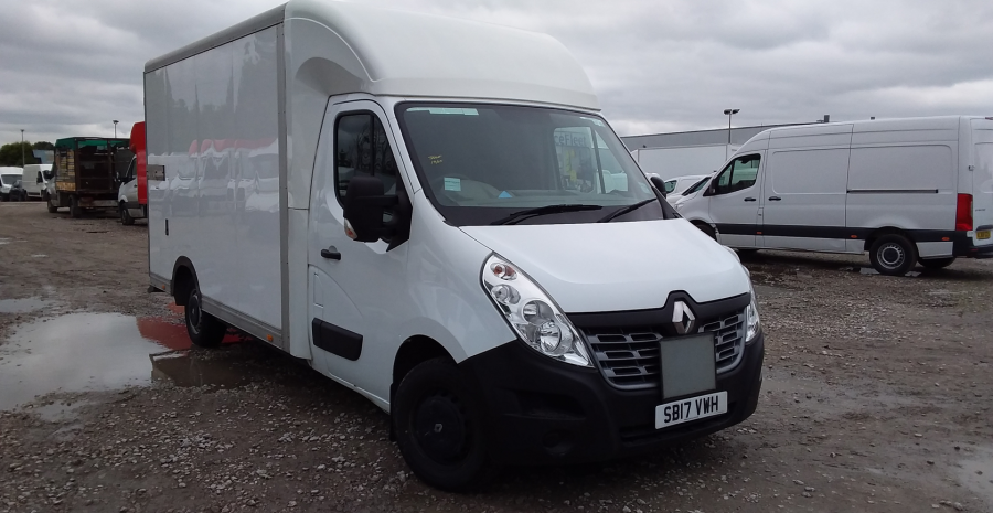 RENAULT MASTER LL35 DCI 130 BUSINESS LOW LOADER LUTON VAN RWD - 10844 - 1
