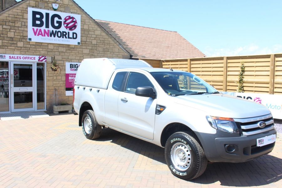 FORD RANGER XL 4X4 TDCI 150 SUPER CAB WITH TRUCKMAN TOP - 6276 - 2