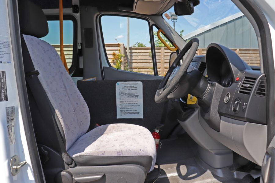 MERCEDES SPRINTER 513 CDI 129 XLWB EXTRA HIGH ROOF 15 SEAT BUS WITH WHEELCHAIR ACCESS - 9801 - 13