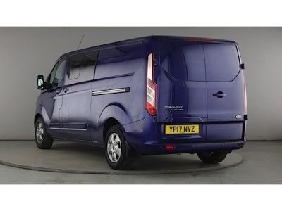 FORD TRANSIT CUSTOM 290 TDCI 130 L2H1 LIMITED DOUBLE CAB 6 SEAT CREW VAN LWB LOW ROOF - 11216 - 6