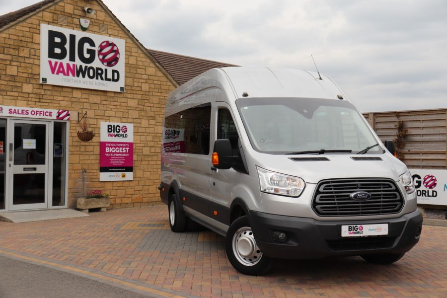 FORD TRANSIT 460 TDCI 155 L4H3 TREND 17 SEAT BUS HIGH ROOF DRW RWD - 11638 - 5