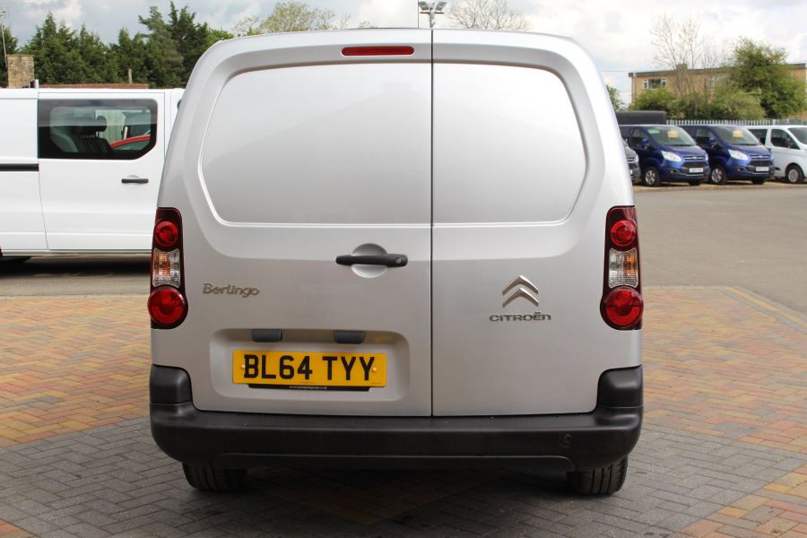 CITROEN BERLINGO 725 HDI 90 X L2 H1 5 SEAT CREW VAN SWB LOW ROOF - 9173 - 6