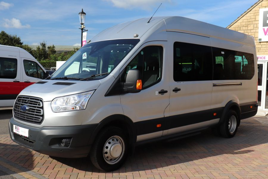 FORD TRANSIT 460 TDCI 125 L4H3 TREND 17 SEAT BUS HIGH ROOF DRW RWD - 10330 - 8