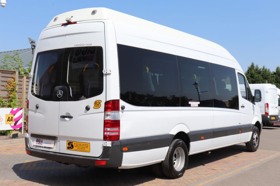 MERCEDES SPRINTER 513 CDI 129 XLWB EXTRA HIGH ROOF 15 SEAT BUS WITH WHEELCHAIR ACCESS - 9801 - 6