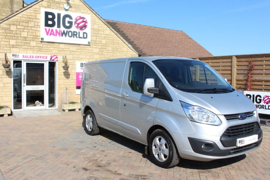 FORD TRANSIT CUSTOM 290 TDCI 170 L1 H1 LIMITED SWB LOW ROOF FWD  VERY RARE - 7563 - 3