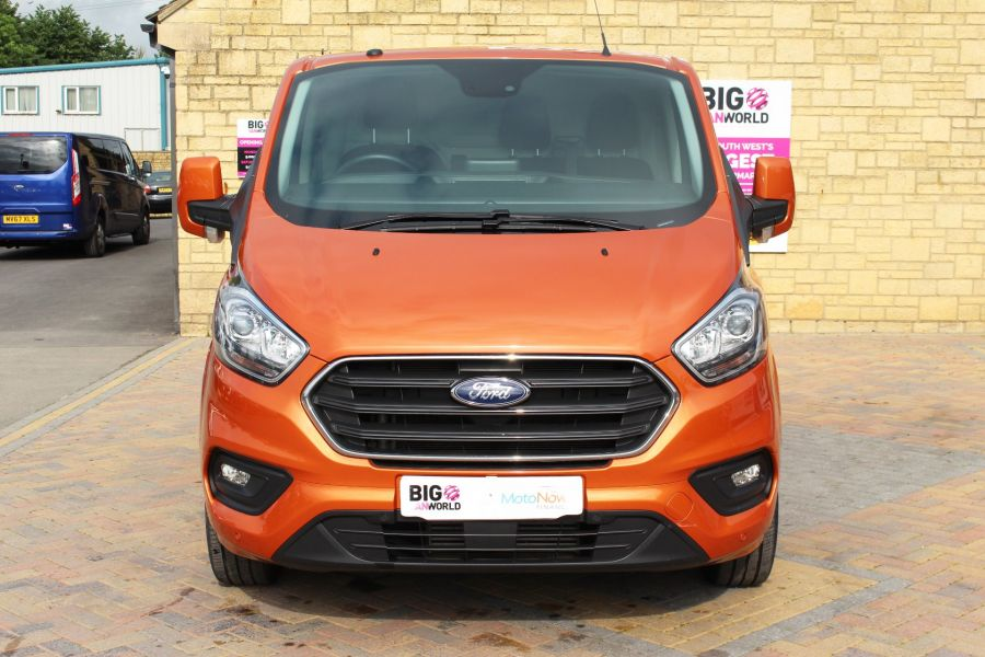 FORD TRANSIT CUSTOM 280 TDCI 130 L1 H1 LIMITED SWB LOW ROOF FWD - 9411 - 10