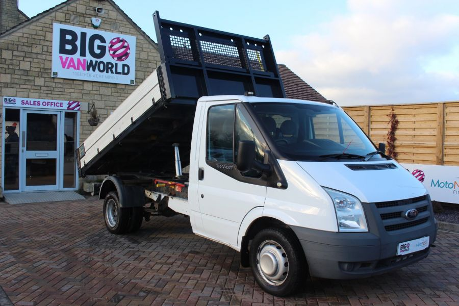 FORD TRANSIT 350 TDCI 100 MWB 'ONE STOP' ALLOY TIPPER DRW RWD - 6726 - 2