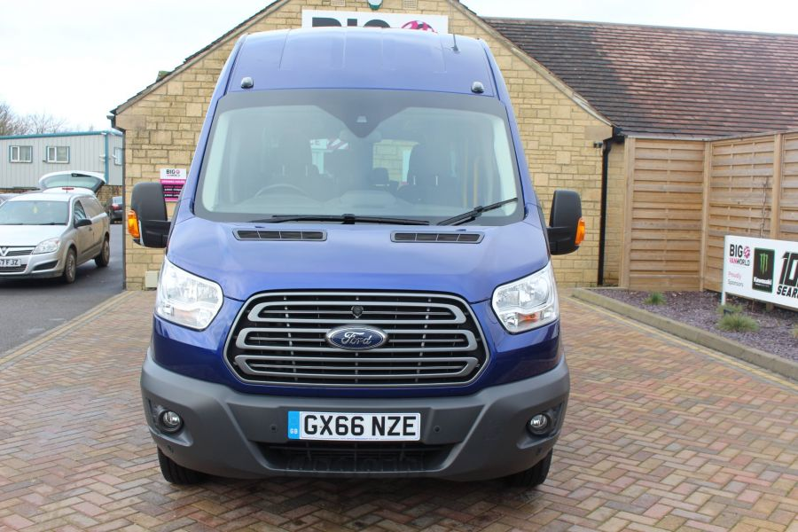 FORD TRANSIT 460 TDCI 125 TREND L4 HIGH ROOF 17 SEAT BUS - 8546 - 9