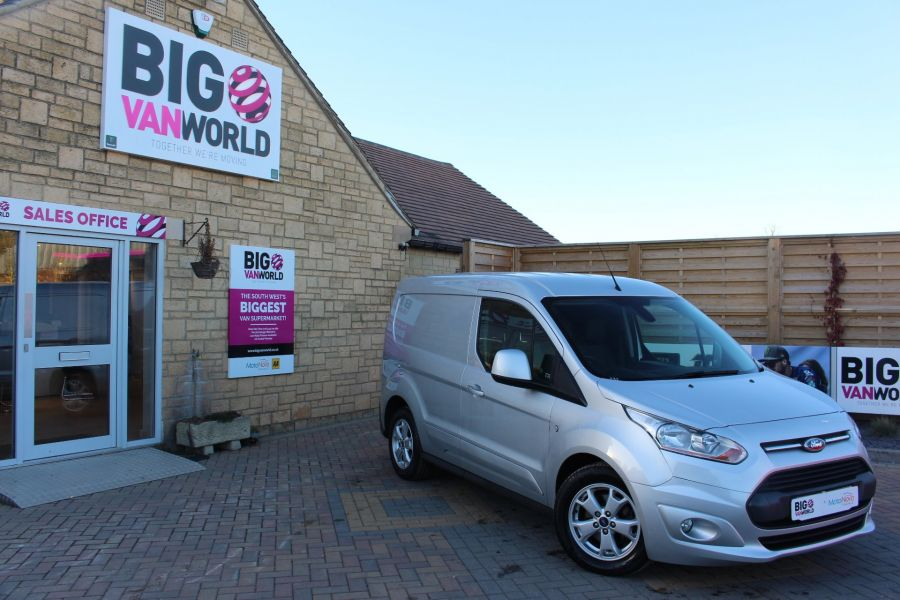 FORD TRANSIT CONNECT 200 TDCI 115 L1 H1 LIMITED SWB LOW ROOF - 7382 - 1