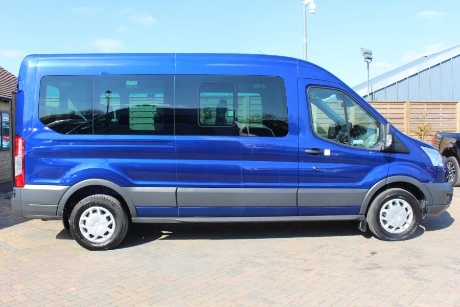 FORD TRANSIT 410 TDCI 125 L3 H2 TREND 15 SEAT BUS LWB MEDIUM ROOF RWD - 9007 - 4