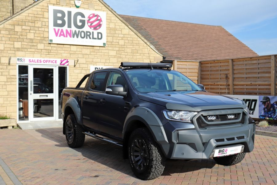 FORD RANGER TDCI 200 LIMITED EDITION 4X4 M-SPORT DOUBLE CAB WITH ROLL 'N' LOCK TOP - 9615 - 2