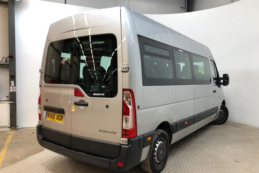 RENAULT MASTER LM39 DCI 150 BUSINESS LWB 17 SEAT BUS MEDIUM ROOF WITH OVERHEAD STORAGE  (13987) - 12235 - 3