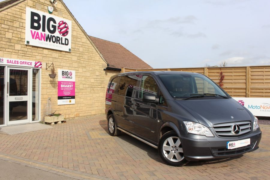 MERCEDES VITO 116 CDI 163 DUALINER COMPACT SPORT SPECIAL EDITION 5 SEAT CREW VAN - 7444 - 1