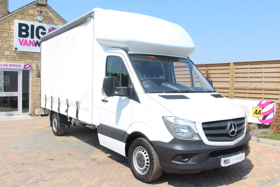 MERCEDES SPRINTER 314 CDI 140 CURTAINSIDER - 7665 - 1