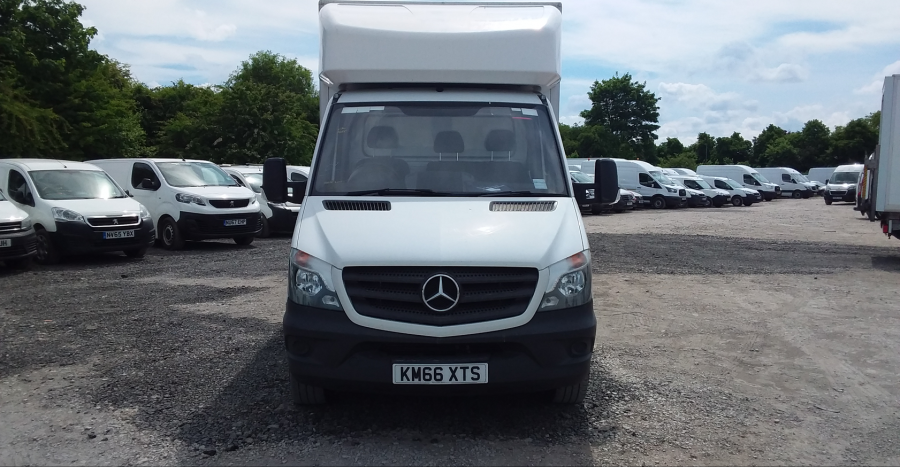MERCEDES SPRINTER 314 CDI 140 LWB 'ONE STOP' LUTON WITH TAIL LIFT - 10777 - 9