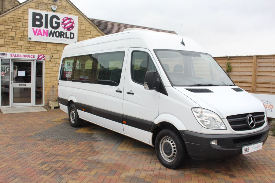 MERCEDES SPRINTER 316 CDI 163 TRAVELINER LWB 15 SEAT BUS HIGH ROOF - 8100 - 3