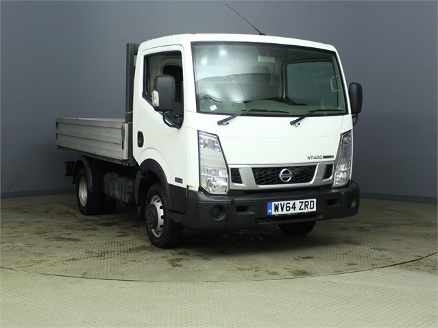 NISSAN NT400 CABSTAR DCI 35.14 DCI 136 SWB ALLOY DROPSIDE - 6873 - 1