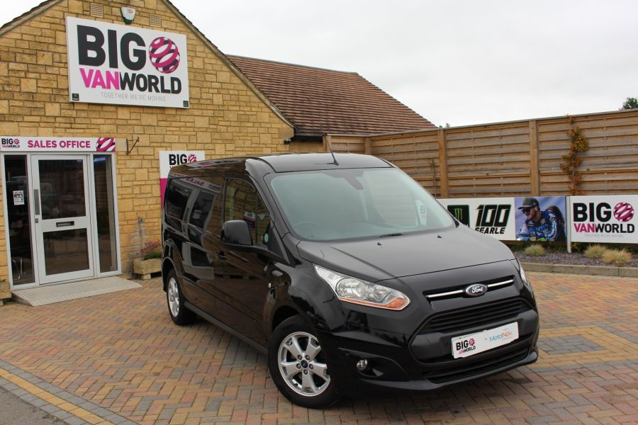 FORD TRANSIT CONNECT 240 TDCI 115 L2 H1 LIMITED LWB LOW ROOF - 9355 - 1