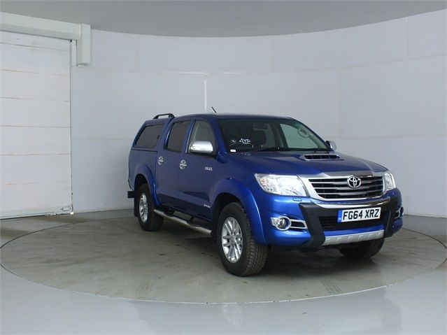 TOYOTA HI-LUX INVINCIBLE 4X4 D-4D 169 DOUBLE CAB WITH TRUCKMAN TOP - 7377 - 1