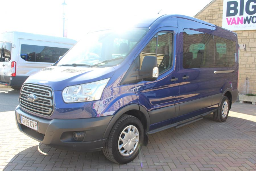 FORD TRANSIT 410 TDCI 125 L3 H2 TREND 15 SEAT BUS LWB MEDIUM ROOF RWD - 9007 - 8