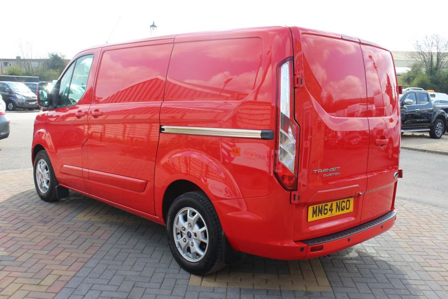 FORD TRANSIT CUSTOM 290 TDCI 125 L1 H1 LIMITED SWB LOW ROOF FWD - 9115 - 7