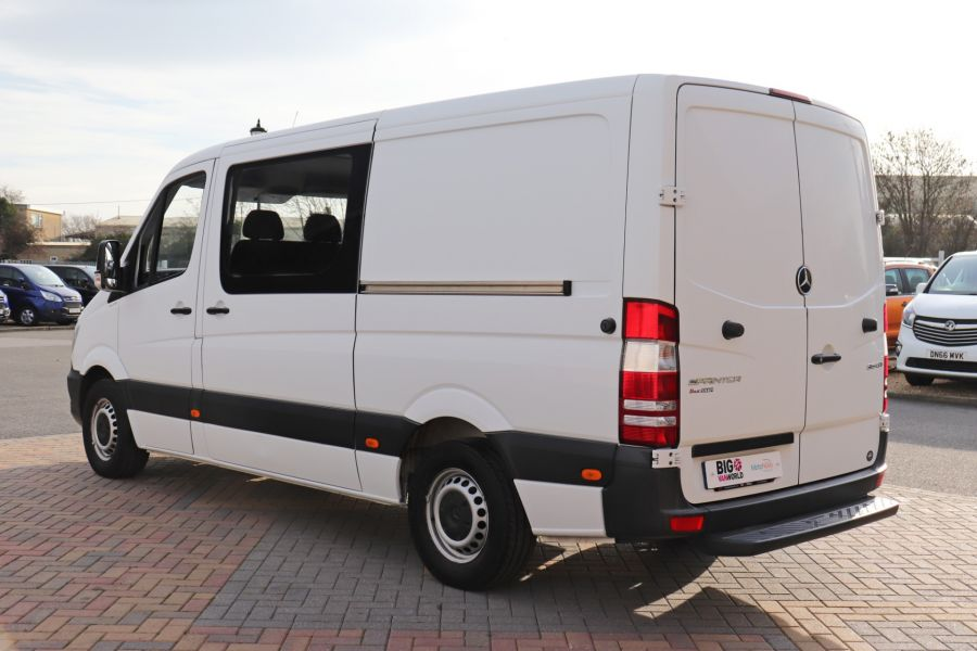 MERCEDES SPRINTER 313 CDI 129 MWB DOUBLE CAB 6 SEAT CREW VAN LOW ROOF - 11824 - 8