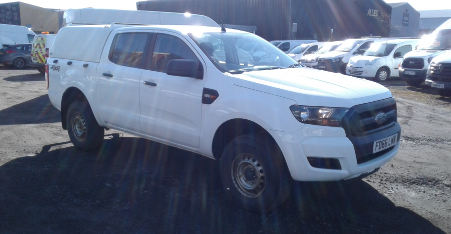 FORD RANGER TDCI 160 XL 4X4 DOUBLE CAB WITH TRUCKMAN TOP  (14253) - 12512 - 1