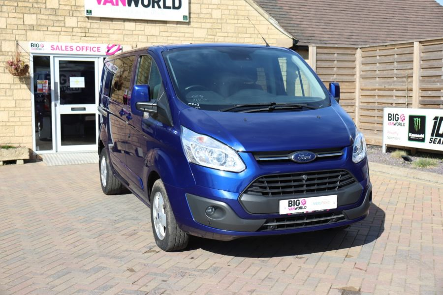 FORD TRANSIT CUSTOM 310 TDCI 130 L1H1 LIMITED DOUBLE CAB 6 SEAT CREW VAN FWD - 10553 - 3