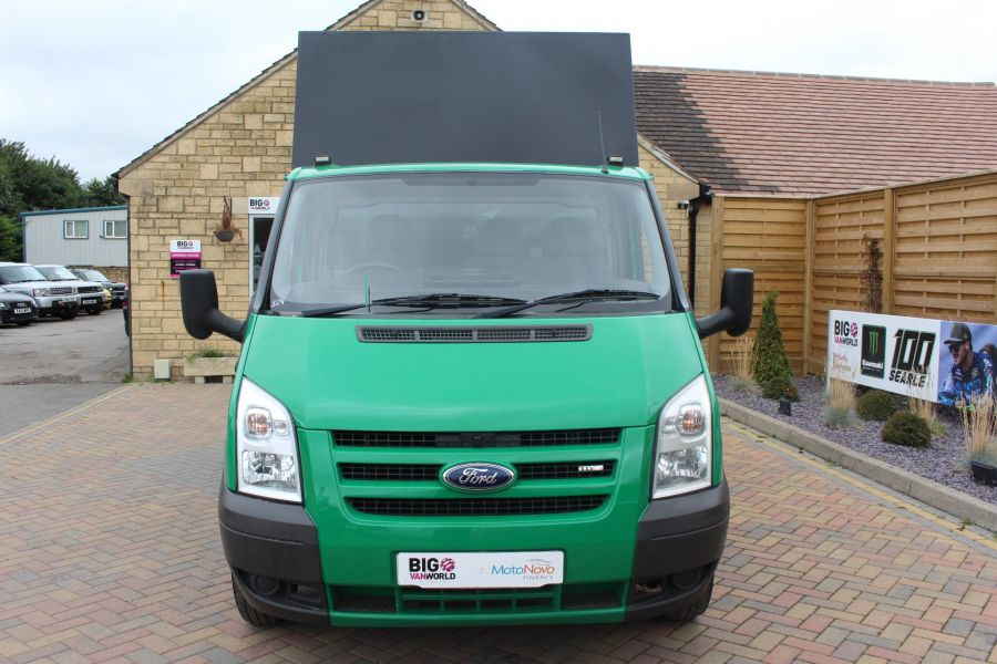 FORD TRANSIT 350 TDCI MWB SINGLE CAB NEW ALLOY ARBORIST TIPPER - 6565 - 9