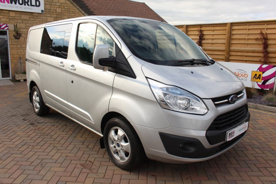 FORD TRANSIT CUSTOM 290 TDCI 125 L1 H1 LIMITED DOUBLE CAB 6 SEAT CREW VAN SWB LOW ROOF FWD - 6791 - 3