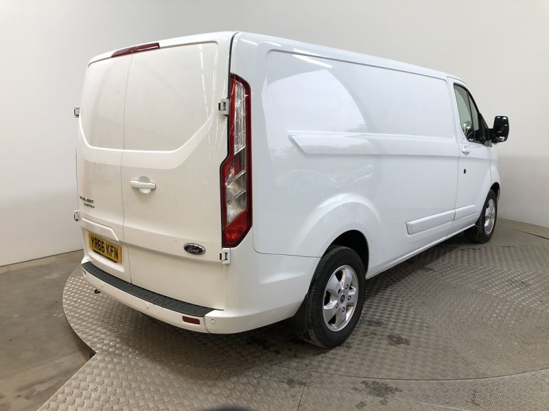 FORD TRANSIT CUSTOM 290 TDCI 130 L2H1 LIMITED LWB LOW ROOF FWD - 11915 - 3