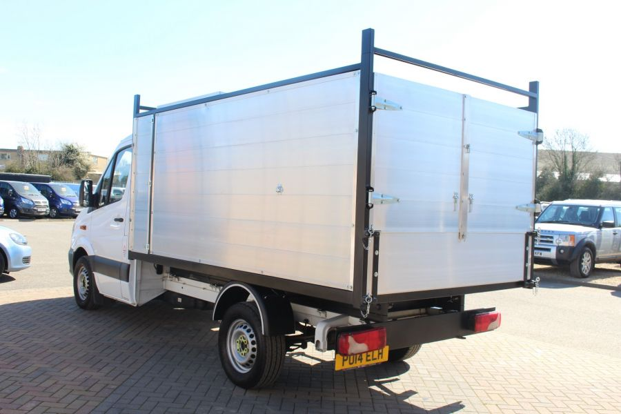 MERCEDES SPRINTER 313 CDI 129 MWB SINGLE CAB NEW BUILD ARBORIST ALLOY TIPPER - 9307 - 16
