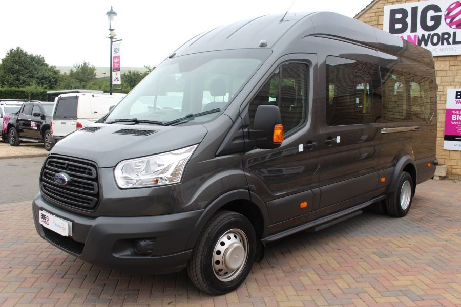 FORD TRANSIT 460 TDCI 155 L4 H3 17 SEAT BUS HIGH ROOF DRW RWD - 8132 - 8