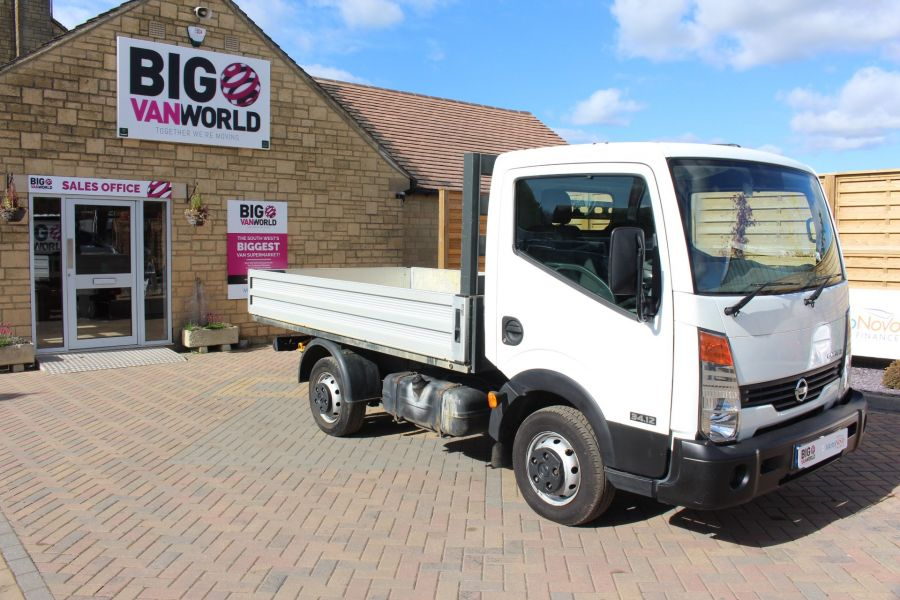 NISSAN CABSTAR 34.12 DCI 121 SWB ALLOY DROPSIDE - 6795 - 2