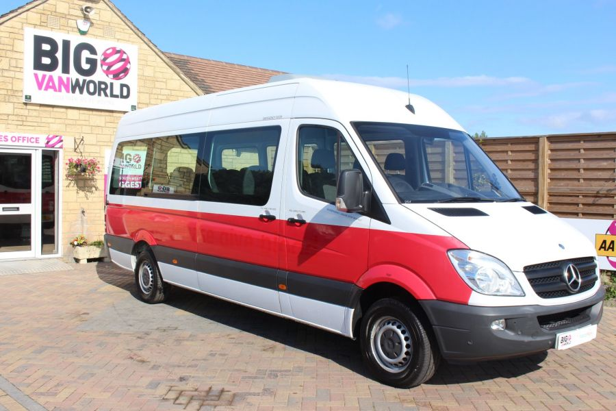 MERCEDES SPRINTER 316 CDI 163 TRAVELINER LWB 15 SEAT BUS HIGH ROOF - 8106 - 3