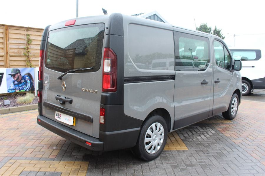 RENAULT TRAFIC SL27 DCI 115 BUSINESS DOUBLE CAB 6 SEAT CREW VAN SWB LOW ROOF - 8178 - 5