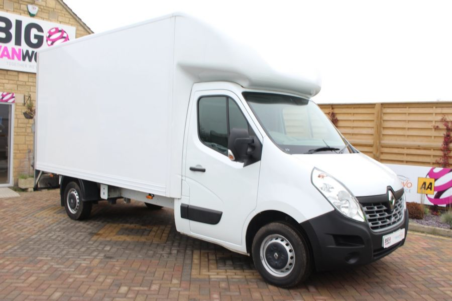 RENAULT MASTER LL35 DCI 125 BUSINESS LWB LUTON WITH TAIL LIFT  - 6880 - 2