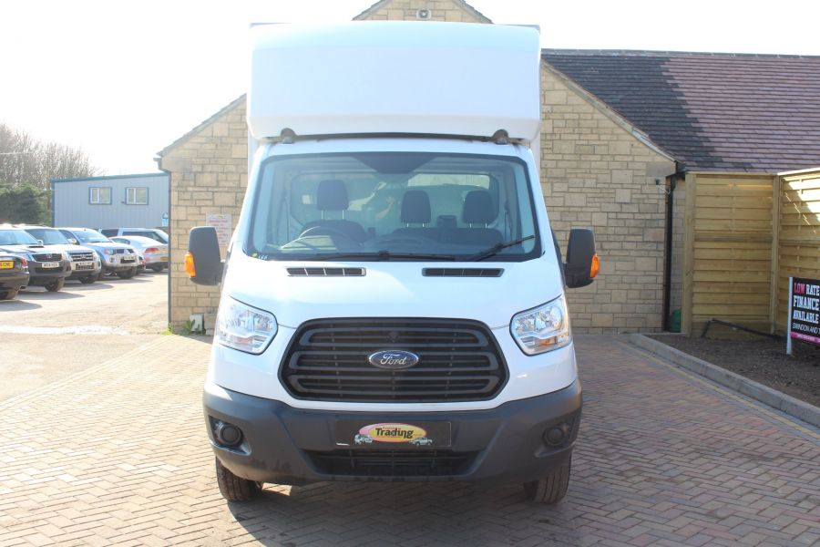 FORD TRANSIT 350 TDCI 125 DRW L4 LUTON WITH TAIL LIFT - 5940 - 7