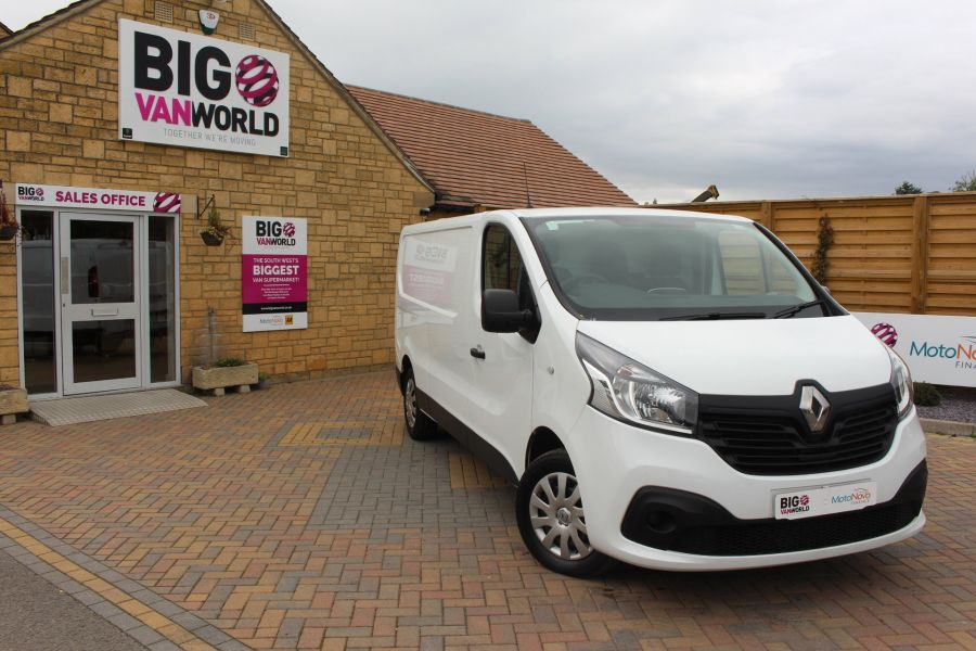 RENAULT TRAFIC LL29 DCI 115 L2 H1 BUSINESS+ PLUS LWB LOW ROOF - 6467 - 1
