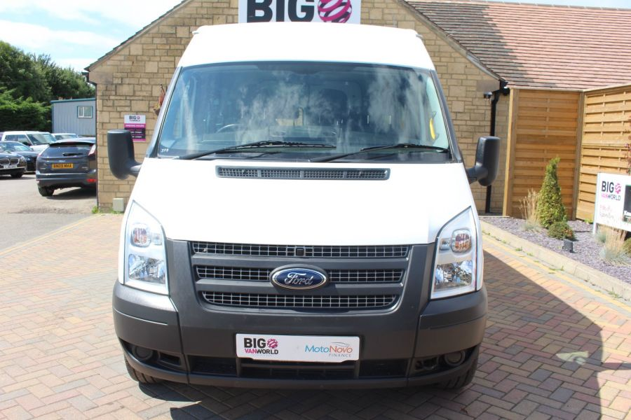 FORD TRANSIT 350 TDCI 135 LWB MEDIUM ROOF 14 SEAT BUS - 6413 - 9