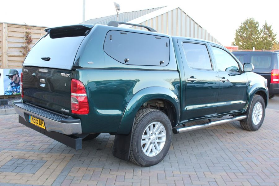 TOYOTA HI-LUX INVINCIBLE 4X4 D-4D 171 DOUBLE CAB WITH TRUCKMAN TOP - 8463 - 5