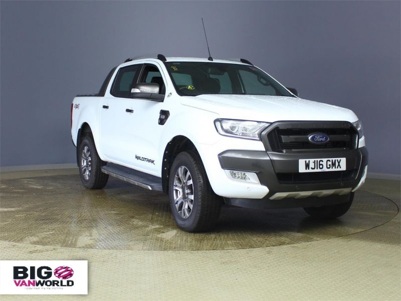 FORD RANGER WILDTRAK TDCI 197 4X4 DOUBLE CAB AUTO - 7637 - 1