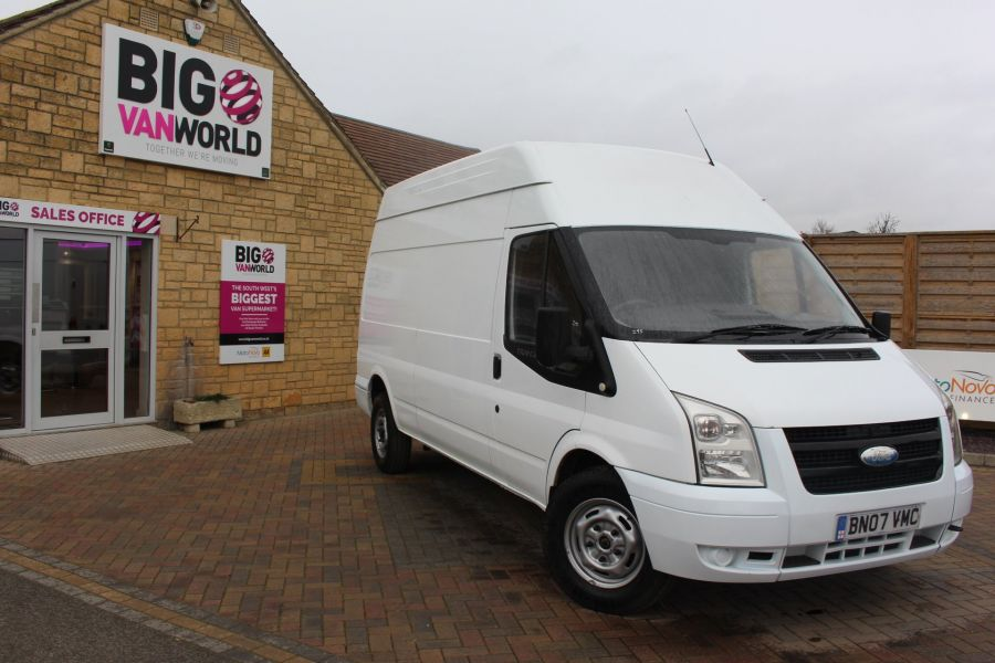 FORD TRANSIT 350 TDCI 100 LWB HIGH ROOF RWD - 9107 - 2