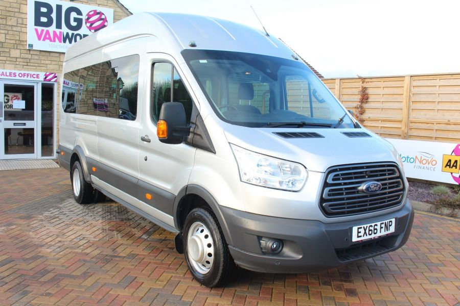 FORD TRANSIT 460 TDCI 155 TREND L4 H3 HIGH ROOF 17 SEAT BUS - 8517 - 1